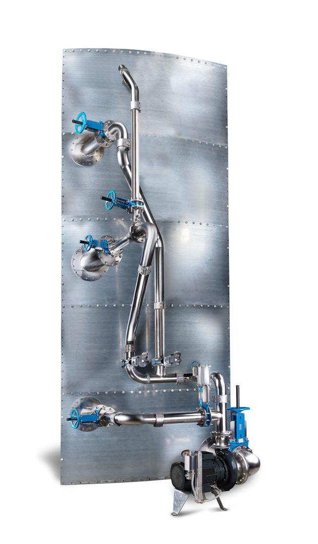 Agitateur digesteur anaérobie externe gasmix