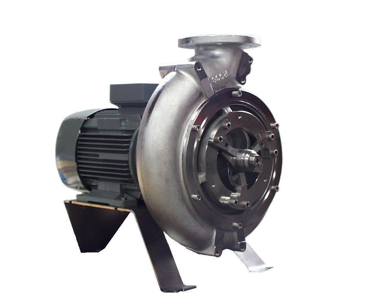 Pompe dilacératrice en cale sèche