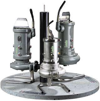 Pompe  dilacératrice immergée pour boues et liquides chargés