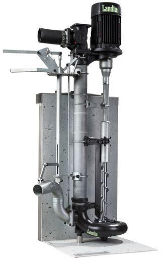 Pompe dilacératrice à arbre long