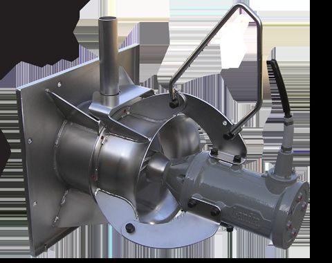 Pompe de recirculation à hauteur de leveur basse de 300,500 et 800 mm.