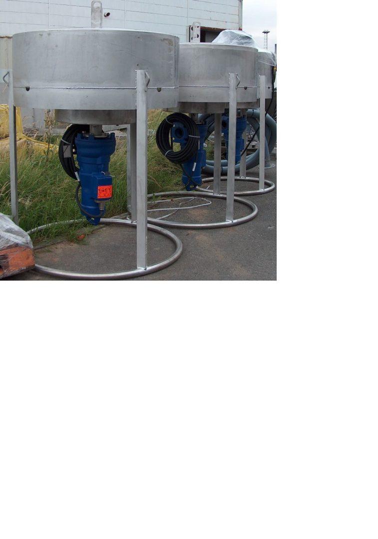 Décanteur à boue gravitaire ou avec pompe gamme AD